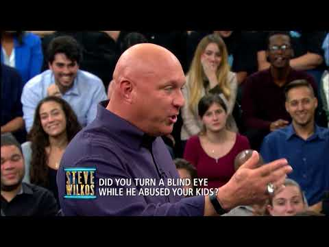 Guest Tries To Go Head To Head With Steve (The Steve Wilkos Show)