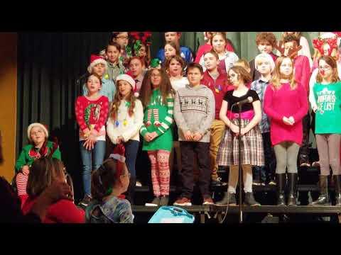 Wyoming Area Intermediate Center Winter Concert 11/26/19