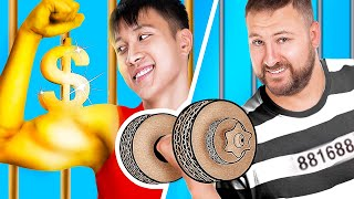 Rich Jail vs Broke Jail/ 13 Funny Situations