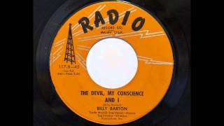 Billy Barton - The Devil, My Conscience And I (Radio 117) [1958 country novelty]