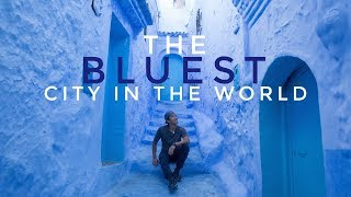 The BLUEST City in the World (Chefchaouen, Morocco) - Vlog #95