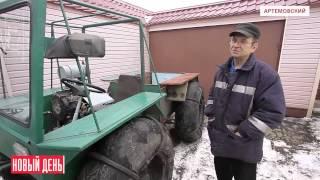 Уральский Кулибин создал вездеход