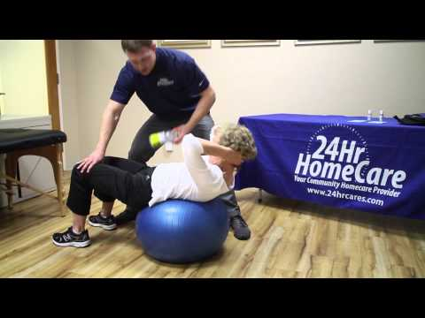 Physical Therapy Exercises for Seniors: Ball Exercises 24Hr HomeCare