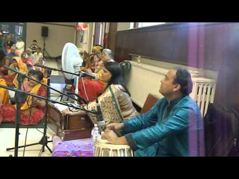 Radhe radhe rato chale aayenge bihari -bhajan in USA