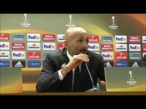 "Conferenza Spalletti post Lione: ""Mi dispiace, ci rimangono i giocatori. Mi rode per lo stadio"""