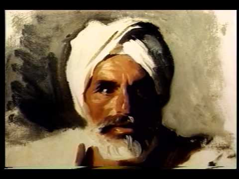The Portrait Institute   John Singer Sargent's Head of an Arab