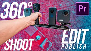 How to Shoot, Edit, Publish 360 Video w/ GoPro MAX & ALL 360 CAM | the Ultimate Premiere 2020 Guide