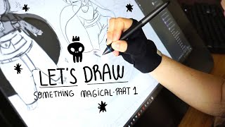 Let's draw something magical! Part 1
