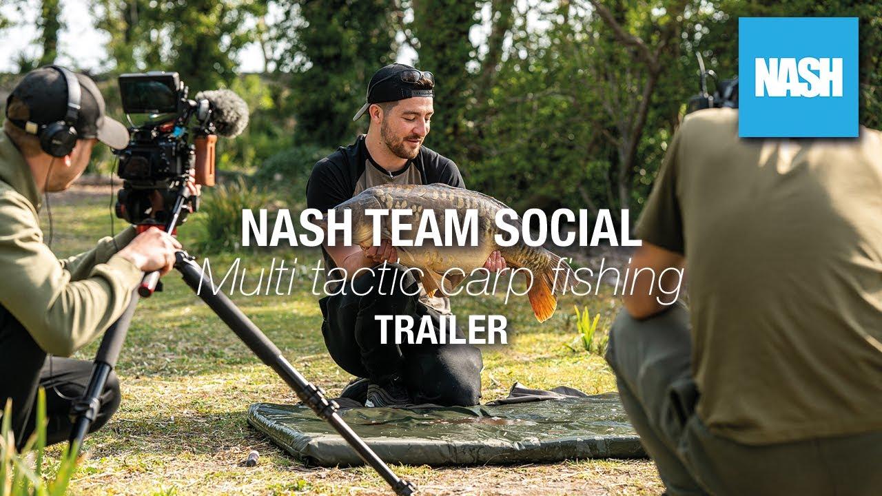 Team Nash Social - Multi-Tactic Carp Fishing Trailer