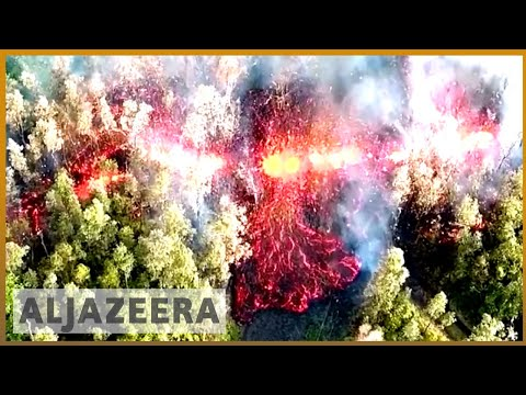 Hawaii volcano: Strong earthquakes as Kilauea erupts | Al Jazeera English