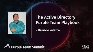 The Active Directory Purple Team Playbook