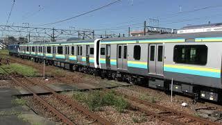【Japan Railway】E131系 新津配給 配9726レ EF64 1032牽引