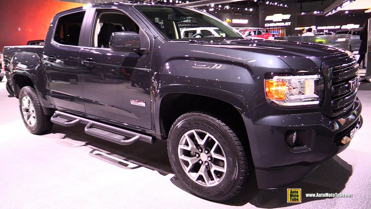 2018 gmc canyon all terrain exterior and interior. Black Bedroom Furniture Sets. Home Design Ideas