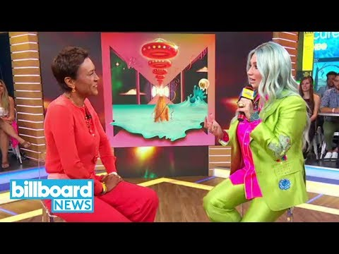 Kesha Performs on 'GMA,' Says New Album 'Rainbow' Saved Her Life | Billboard News