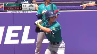Baseball #CAAChamps Game 10 Highlights   #1 Northeastern 3, #4 UNCW 2