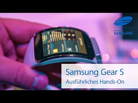 Samsung Gear S Hands On deutsch HD