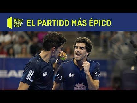 El partido más épico de World Padel Tour: Franco Stupaczuk/Sanyo Gutiérrez VS Juan Lebrón/Ale Galán