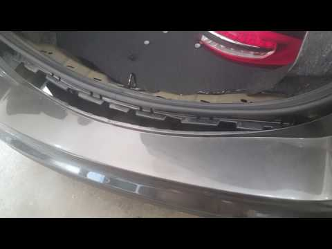 How to remove the rear bumper on a ford fusion
