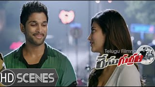 Race Gurram Movie Comedy Scenes - Shaam taking revenge on Allu Arjun - Shruti Hassan