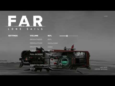 FAR: Lone Sails Gameplay EP1 - Finding A Mysterious Vehicle