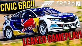Honda Civic GRC Leaked Gameplay Forza Motorsport 7
