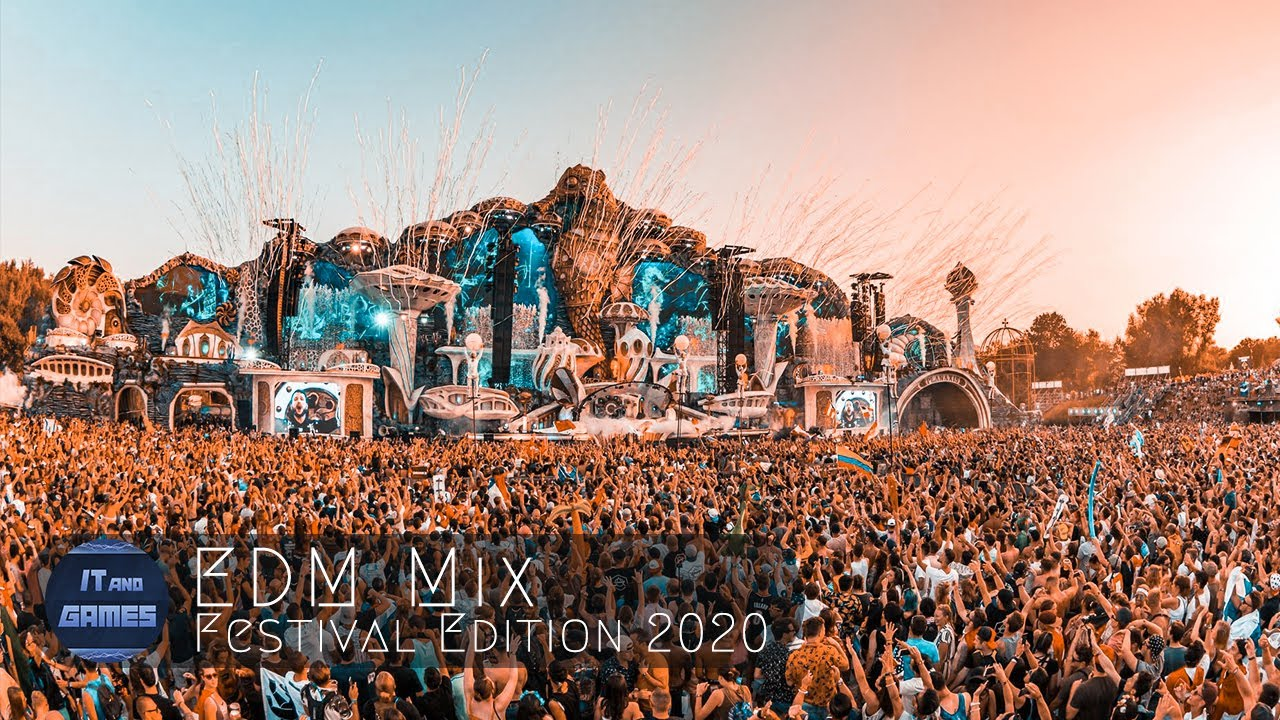 EDM Festival Music Mix Mashup 2020 Tomorrowland Ultra Music Electronic Dance Party #SoundofTomorrow