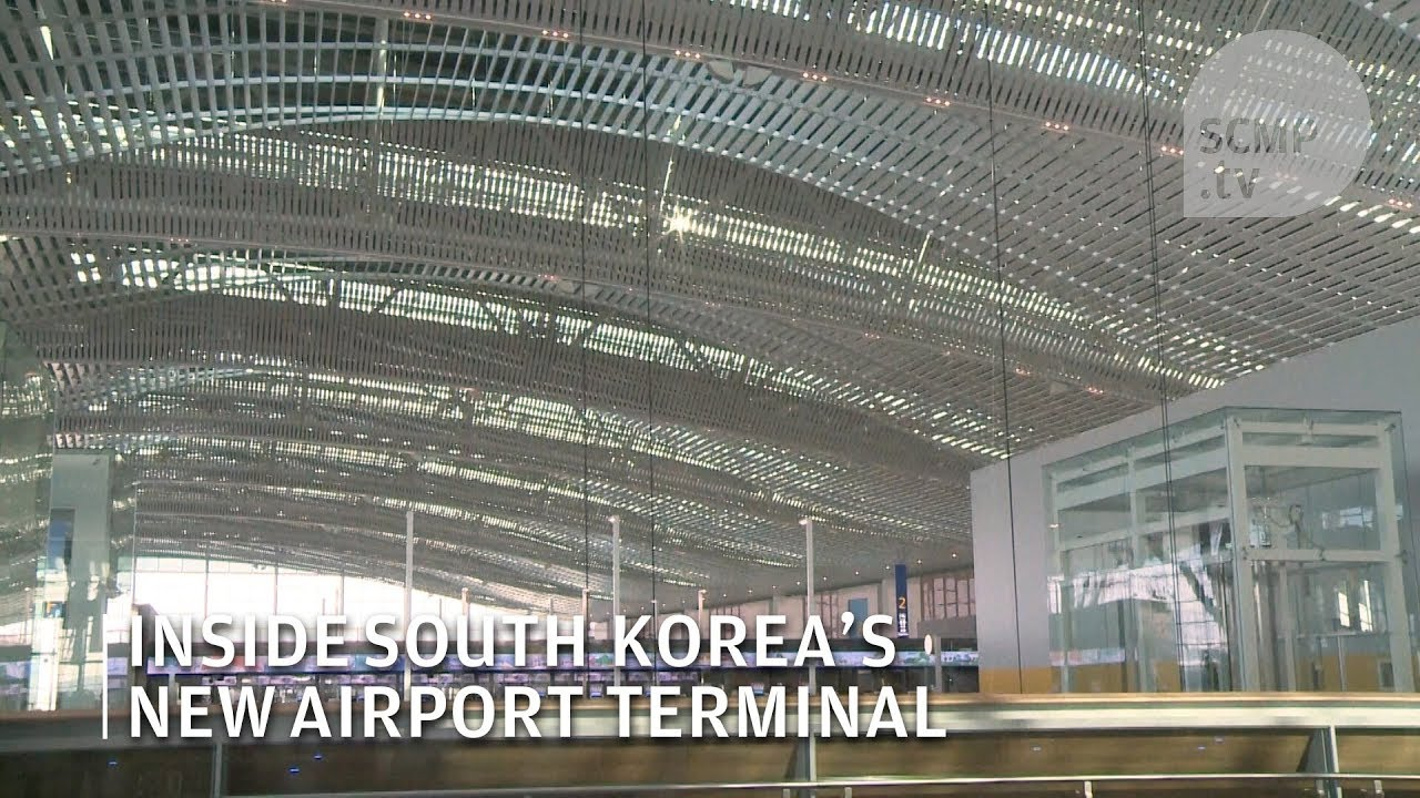 South Korea\'s Incheon International Airport opens new terminal for ...