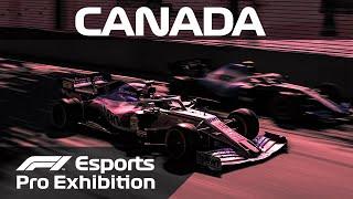 F1 Esports Pro Exhibition Race! | Canada