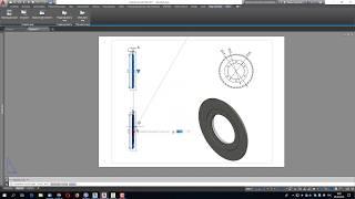 Совмещение 3D модели Inventor с AutoCad - Видео уроки по AutoCad