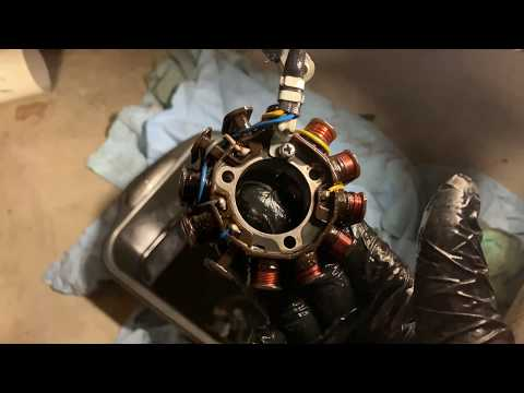 CRF450x Stator Upgrade Part 1 - YouTube