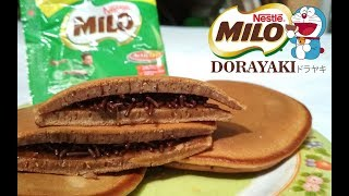 Resep Cara Membuat Dorayaki Milo Teflon Empuk dan Mudah