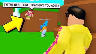 He Pretended To Be A YOUTUBER So He Could SCAM Fans! (Roblox)