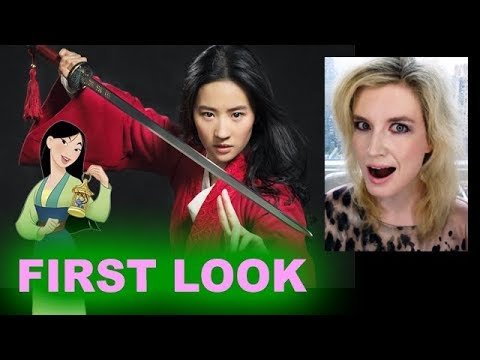 Live Action Mulan FIRST LOOK - Liu Yifei