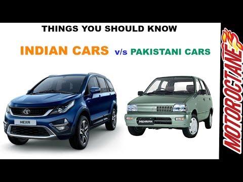 India Vs Pakistan Cars - Things You Didn't Know (भारत V/s पाकिस्तान कारें)