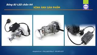 Bóng Bi-LED H4 - Mini Projector Video