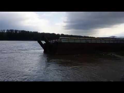 The Missouri River - St. Charles, Missouri