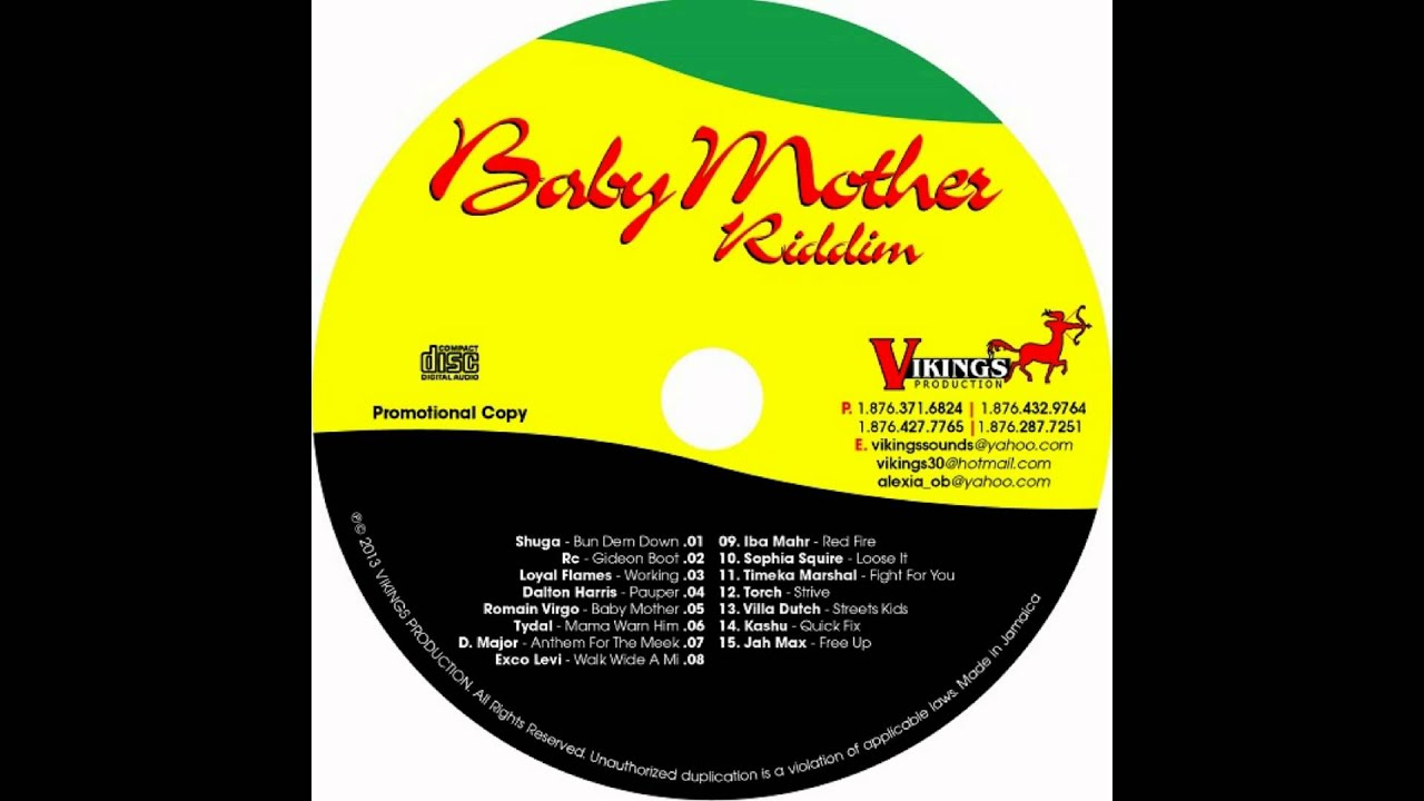 VILLA DUTCH - STREET KIDS - BABY MOTHER RIDDIM - VIKINGS PRODUCTION - NOVEMBER 2013