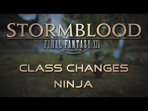 Stormblood Class Changes: Ninja