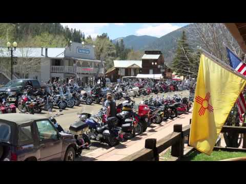 Red River, New Mexico - Memorial Day Motorcycle Rally 2013 - HD