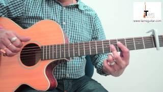 Chaar Kadam (PK) guitar lesson fingerstyle www.tamsguitar.com