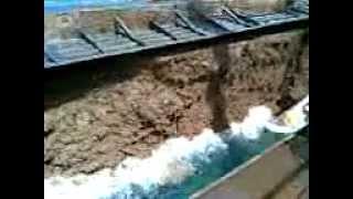 Barge Sinks