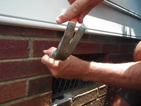 how to replace crawl space vent screen