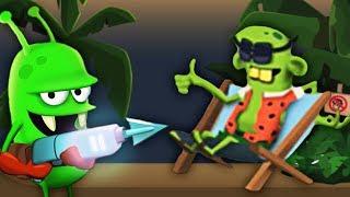 ОХОТИМСЯ НА ПЛЯЖНЫХ ЗОМБАРЕЙ Мультик игра про ловцов зомби Zombie Catchers