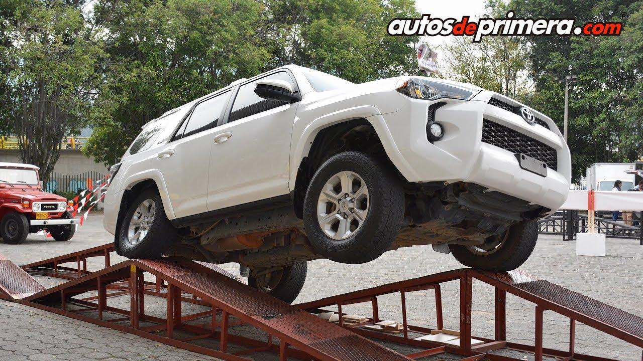Toyota 4Runner en acción - Show de rampas en Medellín