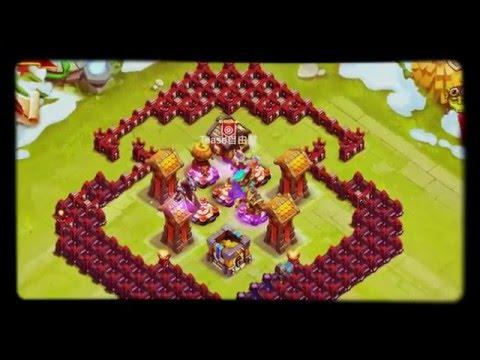 Castle Clash|Town Hall 15 Corner Base