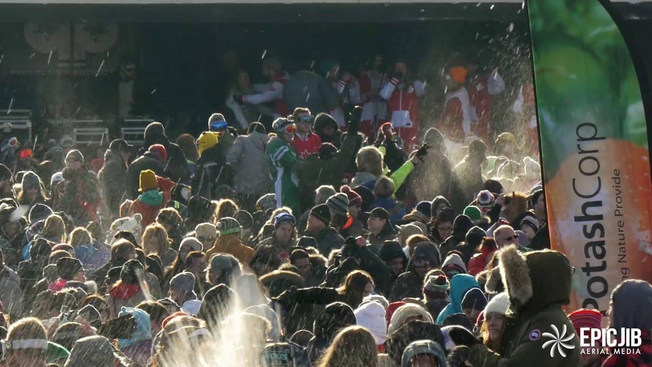 Worlds Largest Snowball Fight 2016 Saskatoon Saskatchewan ...