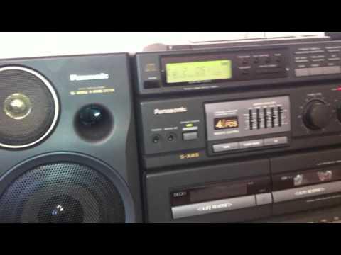 CD Магнитола Panasonic RX-DT680 1992 год