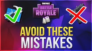 HOW TO WIN | Mistakes To Avoid (Fortnite Battle Royale)