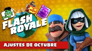 "Clash Royale: Flash Royale, Temporada 4 ""Octubreléctrico"""