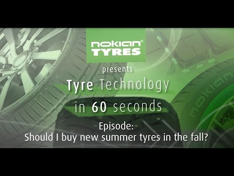 Tyre technology in 60 seconds: Should I buy new summer tyres in the fall?